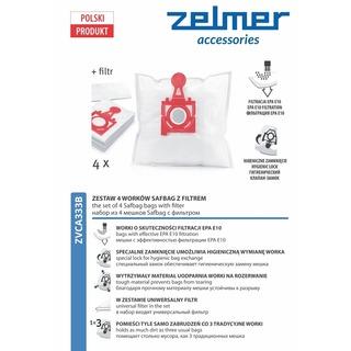 ZELMER ZVCA333B - sáčky do vysavače