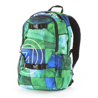 meatfly Basejumper I - Watercolor Green - zelený batoh 20l