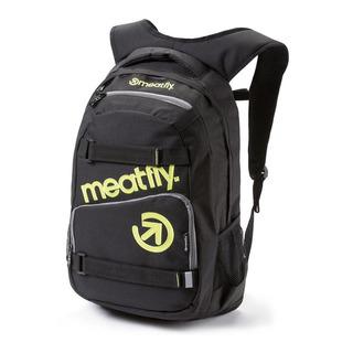 meatfly Exile 2 B - Black - černý batoh 22l
