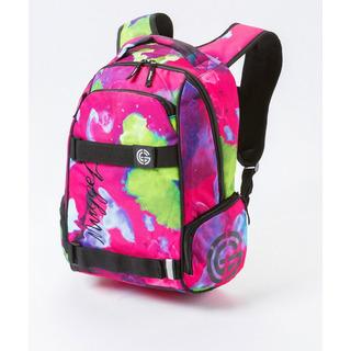 NUGGET Bradley G - Opacity Pink Print - růžový batoh 24l