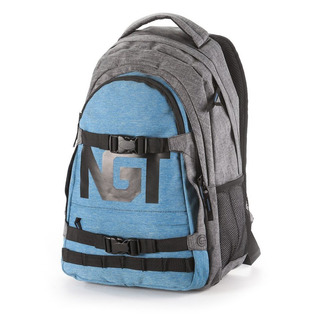 NUGGET Connor E - Blue / Grey Heather Grey - modrošedý batoh 26l