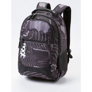 NUGGET Scrambler B - Anomaly Print - černý batoh 26l