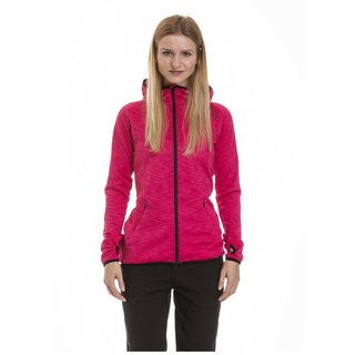 meatfly Serena Termo Top A - Pink Heather - růžová dámská termo mikina