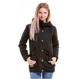 meatfly Lana Cotton Jacket - Black - A - černá dámská bunda