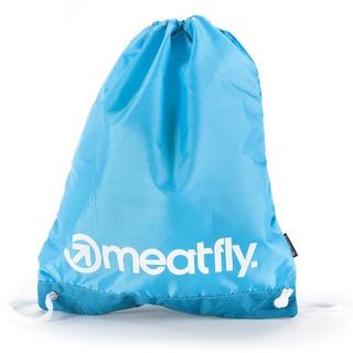 meatfly Flatout Benched Bag - Blue - školní sáček na přezůvky