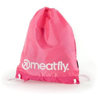 meatfly Flatout Benched Bag - Pink - školní sáček na přezůvky