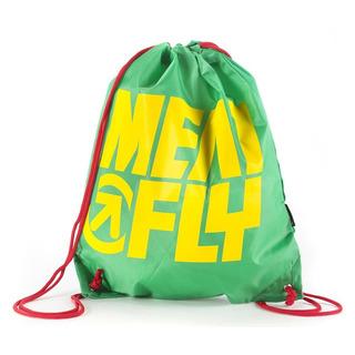 meatfly Swing Benched Bag - Green - školní sáček na přezůvky