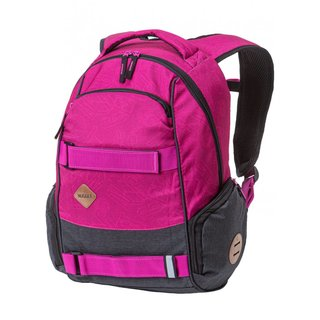 NUGGET Bradley 3 C - Traverse Fuchsia Heather Charcoal - růžový batoh 24l