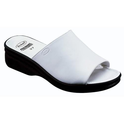 CHIC - bílé zdravotní pantofle