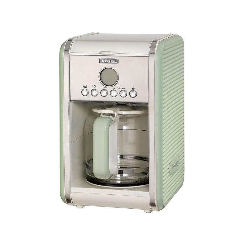 ARIETE Vintage - kávovar na překapávanou kávu (zelená, 1342/04)