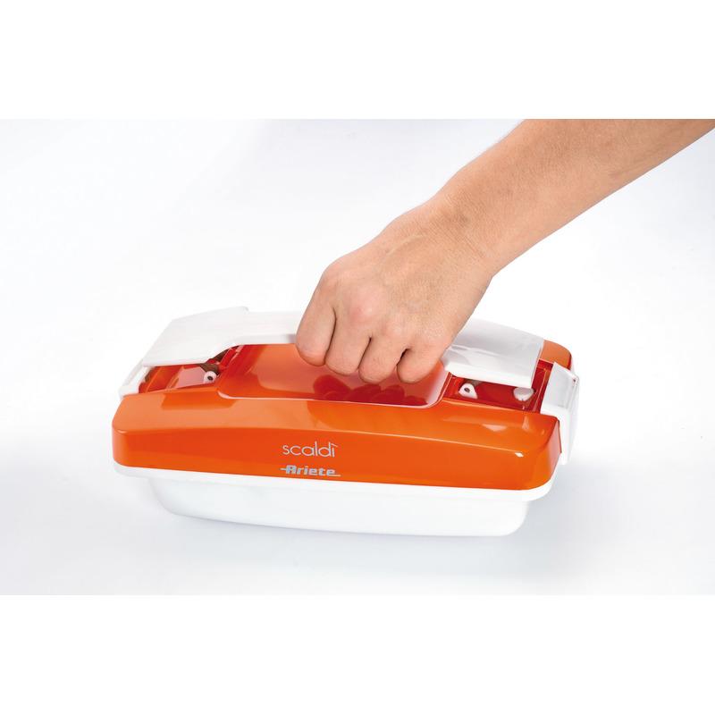 ARIETE 797 oranžový přenosný ohřívač jídla