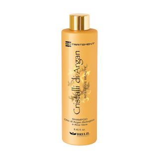 BRELIL Cristalli di Argan - šampon s bio-arganovým olejem a mlékem z aloe vera 250ml