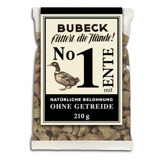 BUBECK Nr.1 Ente - přírodní pamlsek s kachním masem bez obilovin (210g)