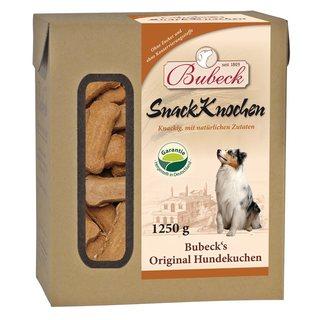 BUBECK Snack Knochen - přírodní pečené sušenky s masem a minerálními látkami (1,25kg)