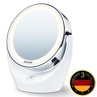 Beurer BS 49 - kosmetické zrcátko s 5-ti násobným zvětšením a LED osvětlením