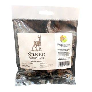Bohemia Pet Food Srnec sušené maso - sušená svalovina (50g)