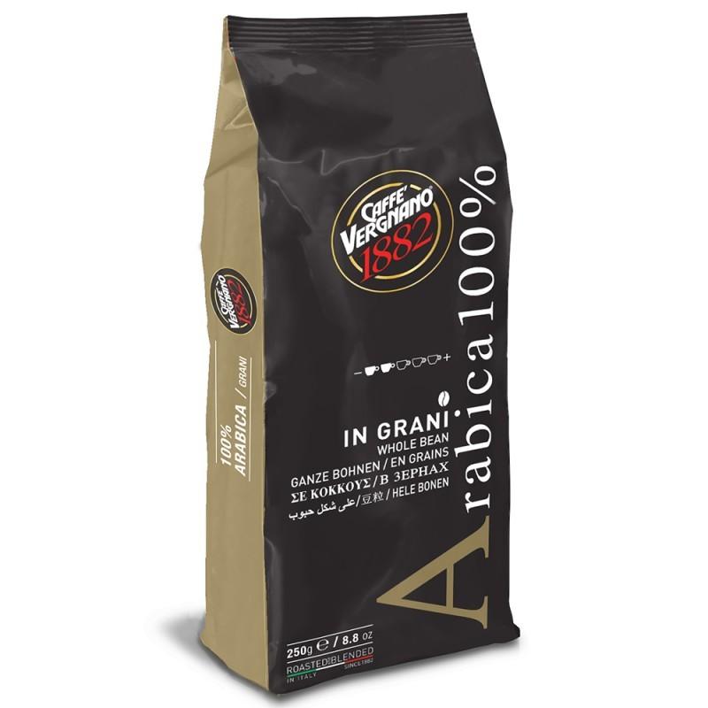 Caffé Vergnano 100% Arabica zrnková káva 250g