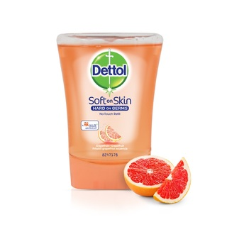 Dettol náhradní náplň do bezdotykového dávkovače mýdla Grapefruit (250 ml)