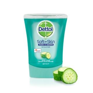 Dettol náhradní náplň do bezdotykového dávkovače mýdla Okurka (250 ml)