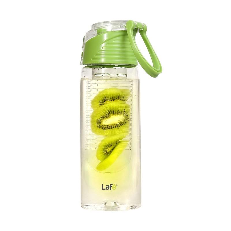 Lafé BIT001 - sportovní plastová láhev s košíkem na ovoce