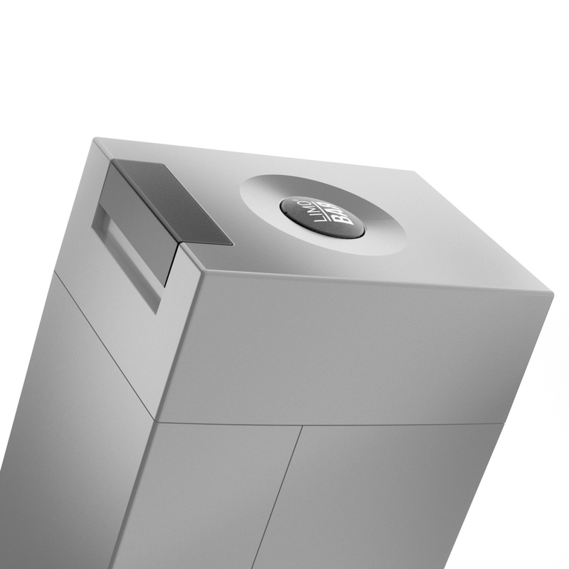 LIMOBAR Edge Grey - výrobník sody