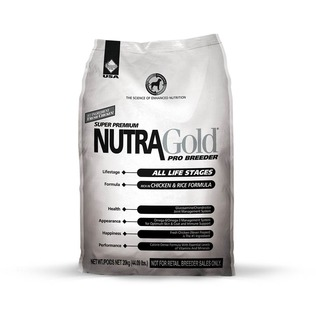 NutraGold Breeder Bag 20kg - superprémiové krmivo (kuřecí maso, rýže)