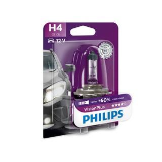 Philips H4 VisionPlus 1 ks - autožárovka
