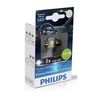 Philips Interiérová LED žárovka X-tremeVision 14x30 4000K (1 ks) - autožárovka