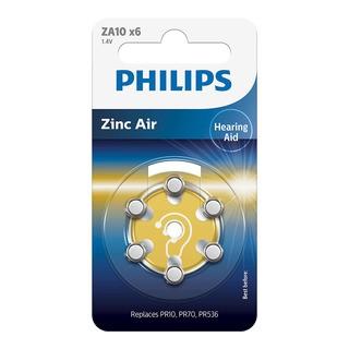 Philips baterie do naslouchadla (ZA10B6A/10, 6ks)