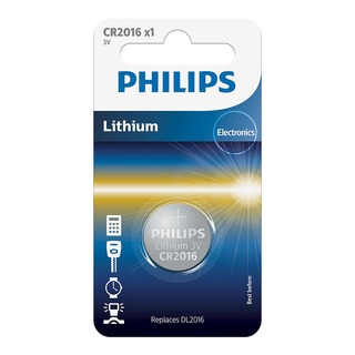 Philips baterie LITHIUM 1ks (CR2016/01B, CR2016)