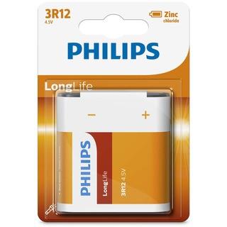 Philips baterie LONG LIFE 1ks blister (3R12L1B/10, 4,5V)