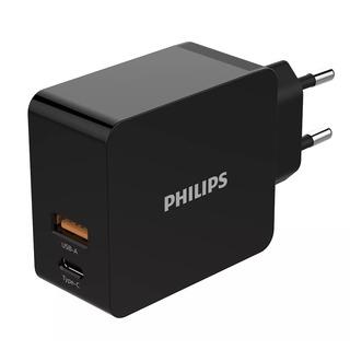 Philips DLP2621/12 - síťová duální USB nabíječka mobilních zařízení (mobil, tablet)