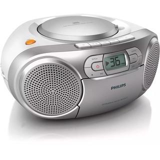 Philips AZ127/12 CD Soundmachine - radiomagnetofon s přehráváním CD disků a kazet