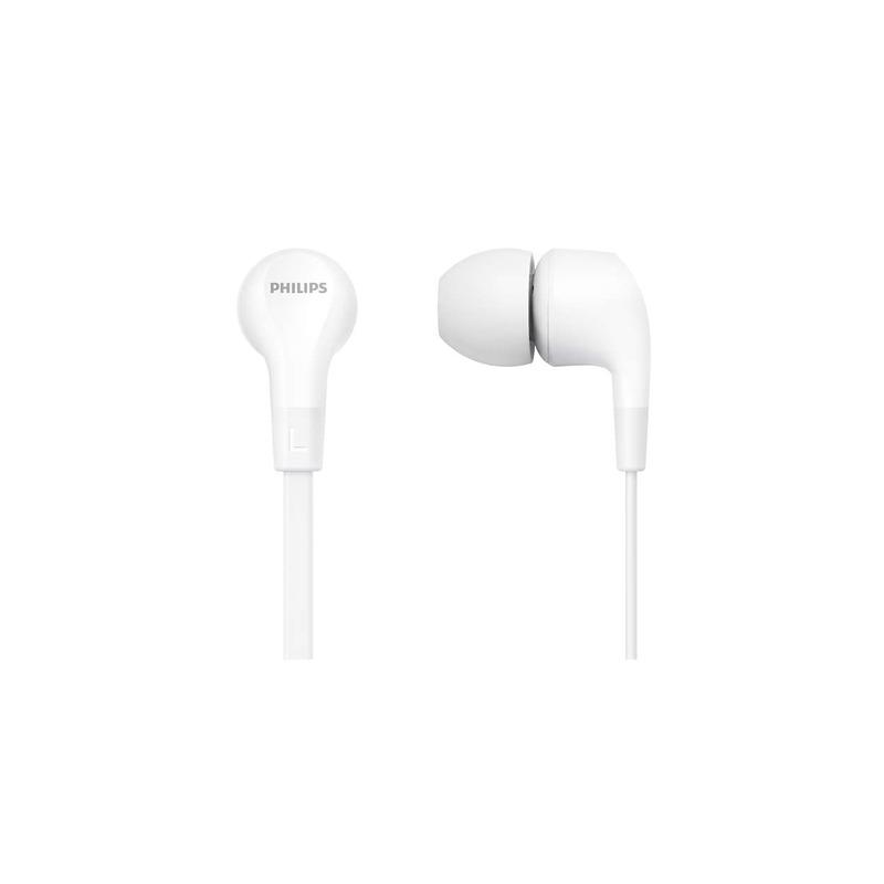 Philips TAE1105WT/00 bílá sluchátka do uší s mikrofonem