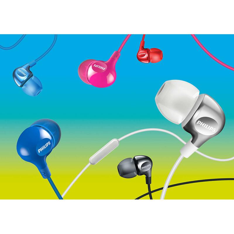 Philips SHE3700WT/00 - bílé sluchátka do uší