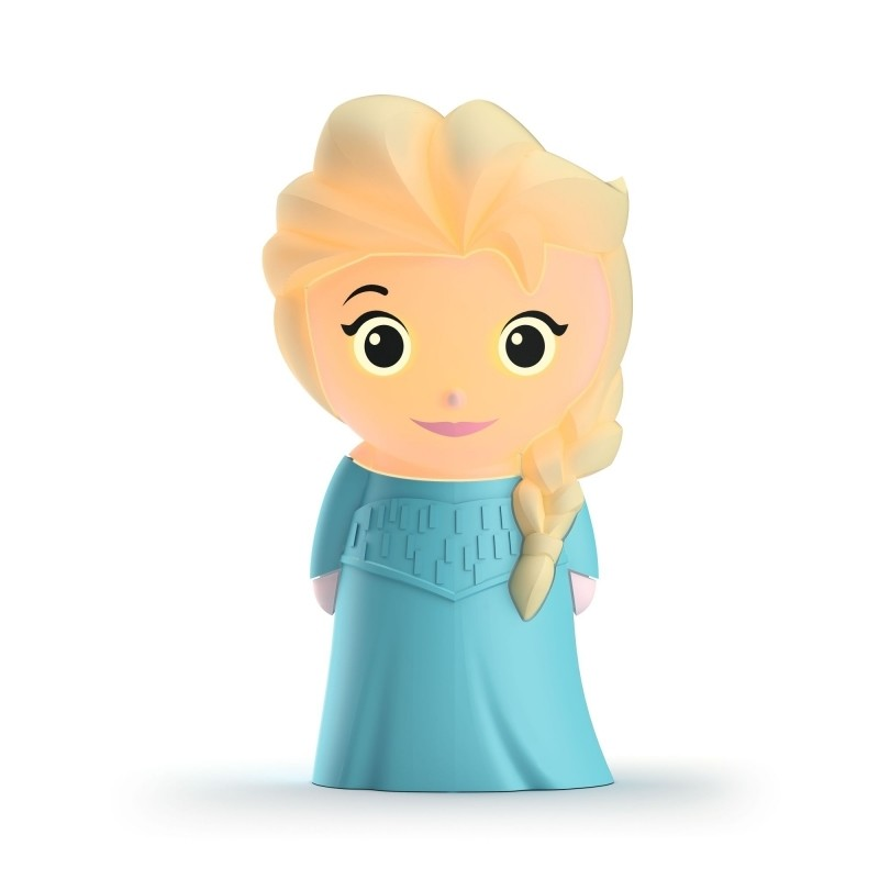 Philips Disney Softpal - přenosné svítidlo princezna Elza (71768/03/16, FROZEN OD DISNEY)