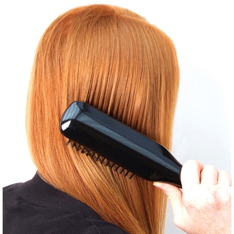 RIO HEATED HAIR STRAIGHTENING BRUSH - rovnací elektrický kartáč