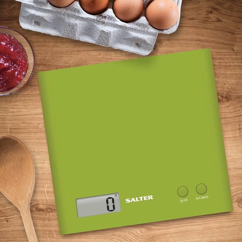Salter 1066 GNDR zelená - kuchyňská váha
