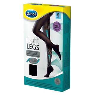 Scholl Light Legs Kompresní punčochové kalhoty 60 DEN černé (1 ks) velikost XL