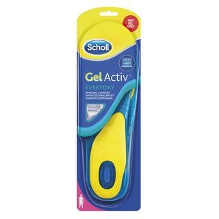 Scholl GelActive Everyday - gelové vložky do bot - Ženy 1 pár