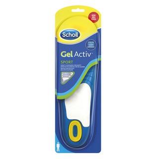 Scholl GelActive Sport - gelové vložky do bot - Muži 1 pár