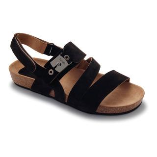 Scholl ISIDRO tmavě hnědé - pánské zdravotní sandály