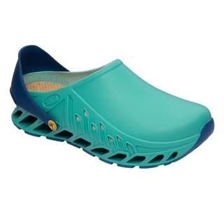 Scholl CLOG EVOFLEX - zelená pracovní obuv