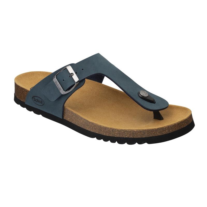 Scholl EVIS 2.0 - modré zdravotní pantofle