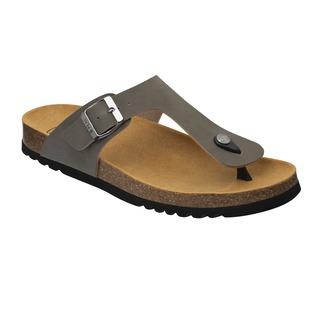 Scholl EVIS 2.0 - šedé zdravotní pantofle