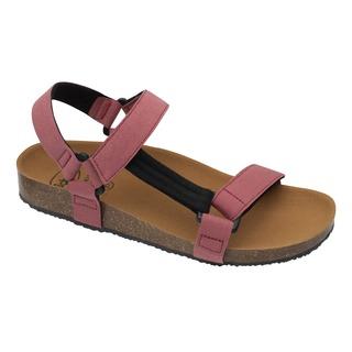 Scholl GREENY HEAVEN - červené zdravotní sandály