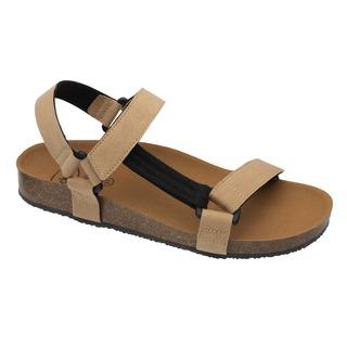 Scholl GREENY HEAVEN - žluté zdravotní sandály