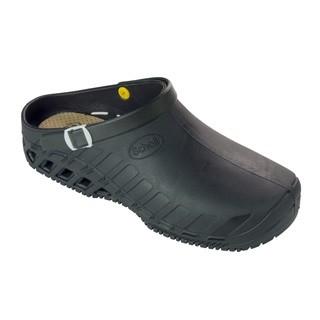 Scholl CLOG EVO - černá pracovní obuv