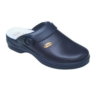 Scholl NEW BONUS Unpunched - modré pracovní pantofle