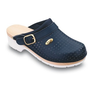 Scholl CLOG SUPERCOMFORT - tmavě modrá zdravotní obuv